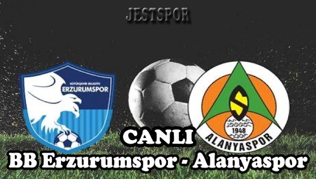 BB Erzurumspor - Alanyaspor Jestspor izle