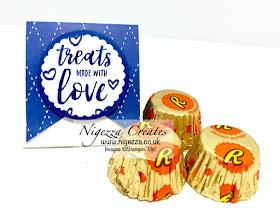 Nigezza Creates With Stampin' Up! a Small Triangular Treat Box