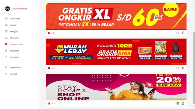 Source Code Web Toko Online Midtrans Rajaongkir