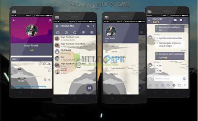Mi-Cloud BBM Mod Theme v3.2.5.12 Apk