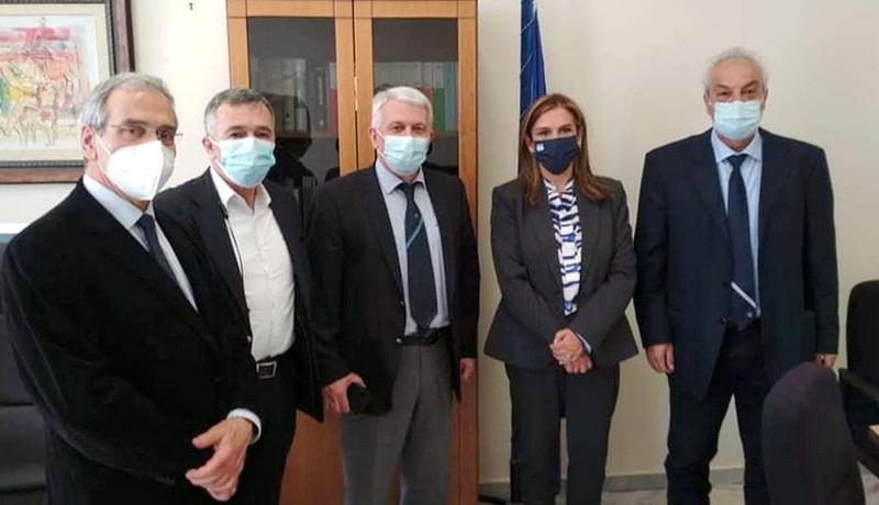 Επίσκεψη της Υφυπουργού Υγείας Ζωής Ράπτη στην Αλεξανδρούπολη