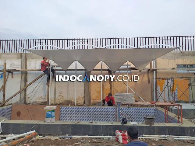jasa canopy membrane cianjur