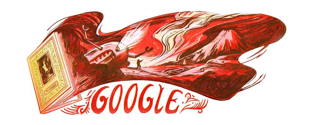 60th-Anniversary-of-The-Land-Of-Crimson-Clouds-Publication-Today-Doodle
