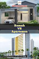 Pilih Rumah Atau Apartemen Untuk Tinggal