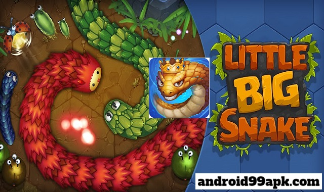 لعبة Little Big Snake v2.6.15 مهكرة بحجم 70 ميجابايت للأندرويد