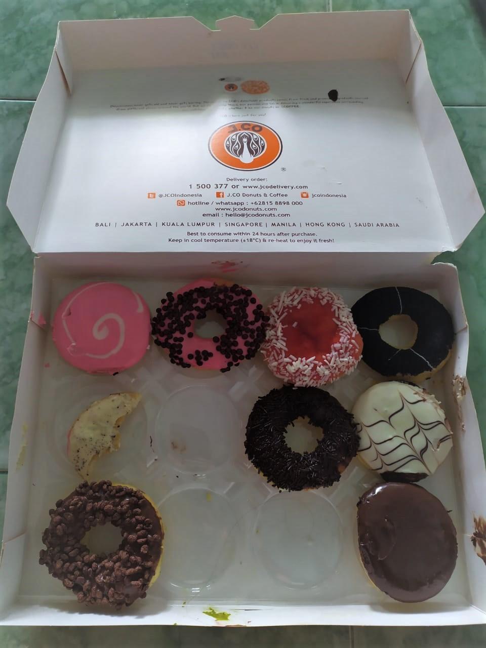 Jenis Donat Jco : jenis, donat, Donuts, Coffee, Banda, 'Ulya