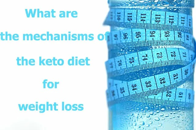 What are the mechanisms of the keto diet for weight loss?