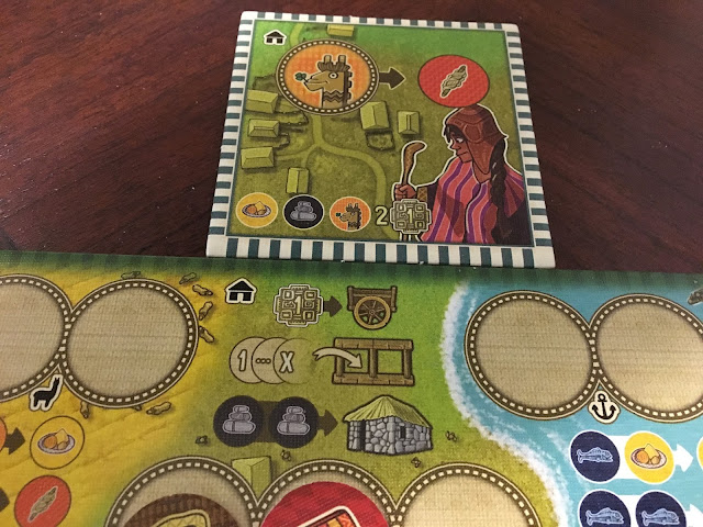 Altiplano Board Game Renegade Game Studios Role Card Alpaca Farmer