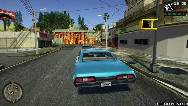 GTA San Andreas Highly Compressed  For Android