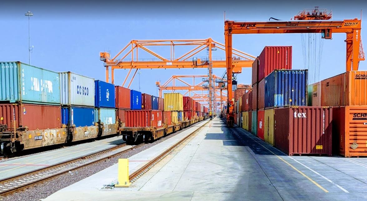 Industrial History: BNSF Chicago Logistics Park (Intermodal
