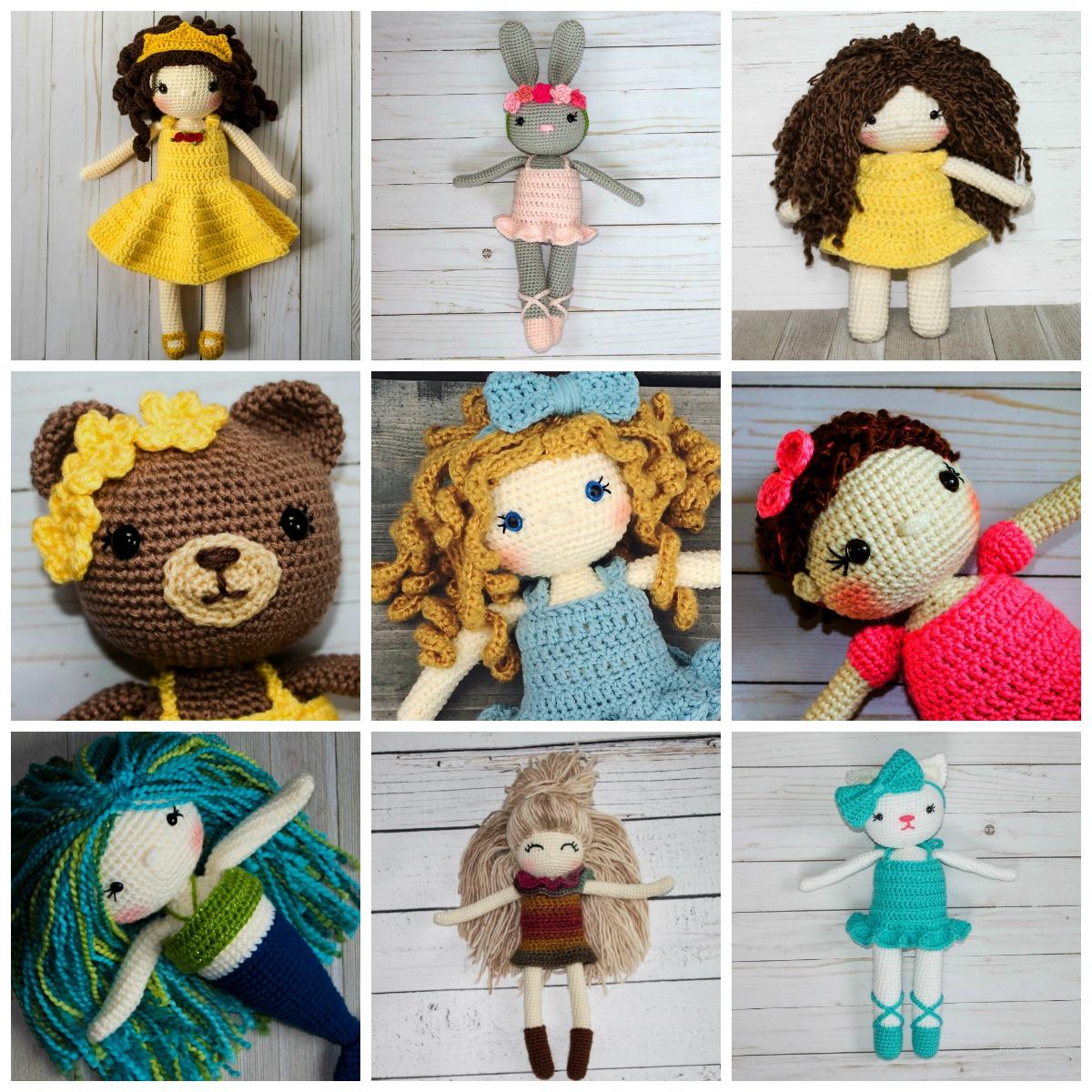 Molly Crocheted Amigurumi Doll [FREE Crochet Pattern] | 1200x1200