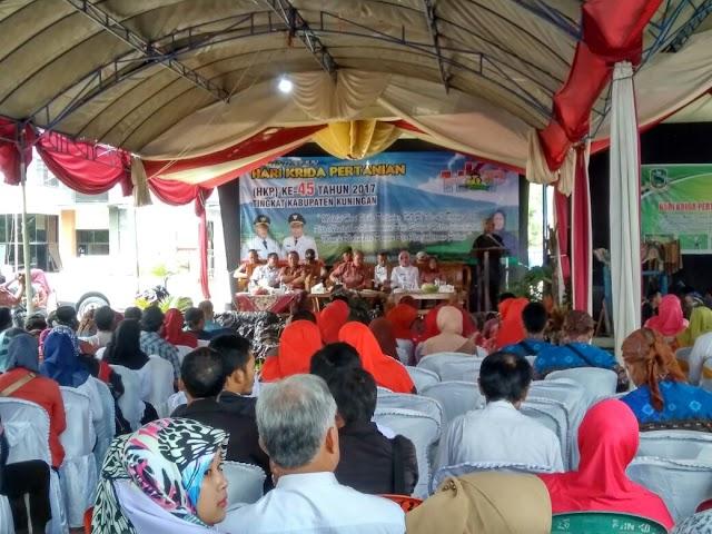 Hari Krida Pertanian Mantapkan Kelembagaan Tani Sebagai Mitra Pemerintah