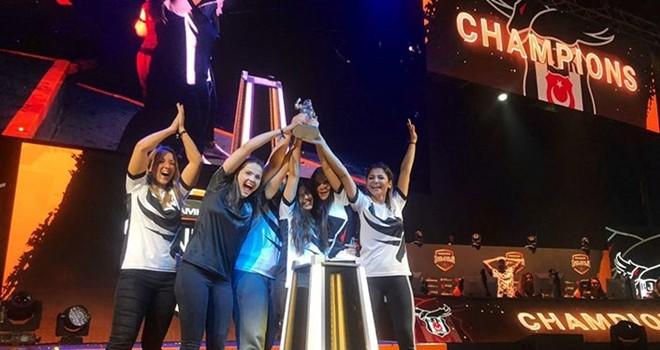 Beşiktaş Kadın CSGO Espor Takımı Dünya Şampiyonu 2