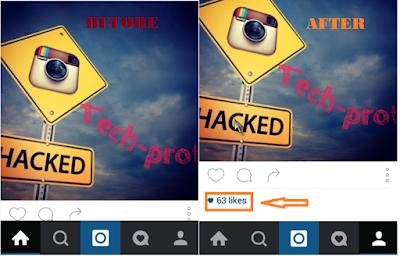 تعلم طريقة زيادة عدد ال likes وال followers بدون زيادة ال following