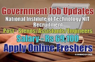 NIT Recruitment 2020