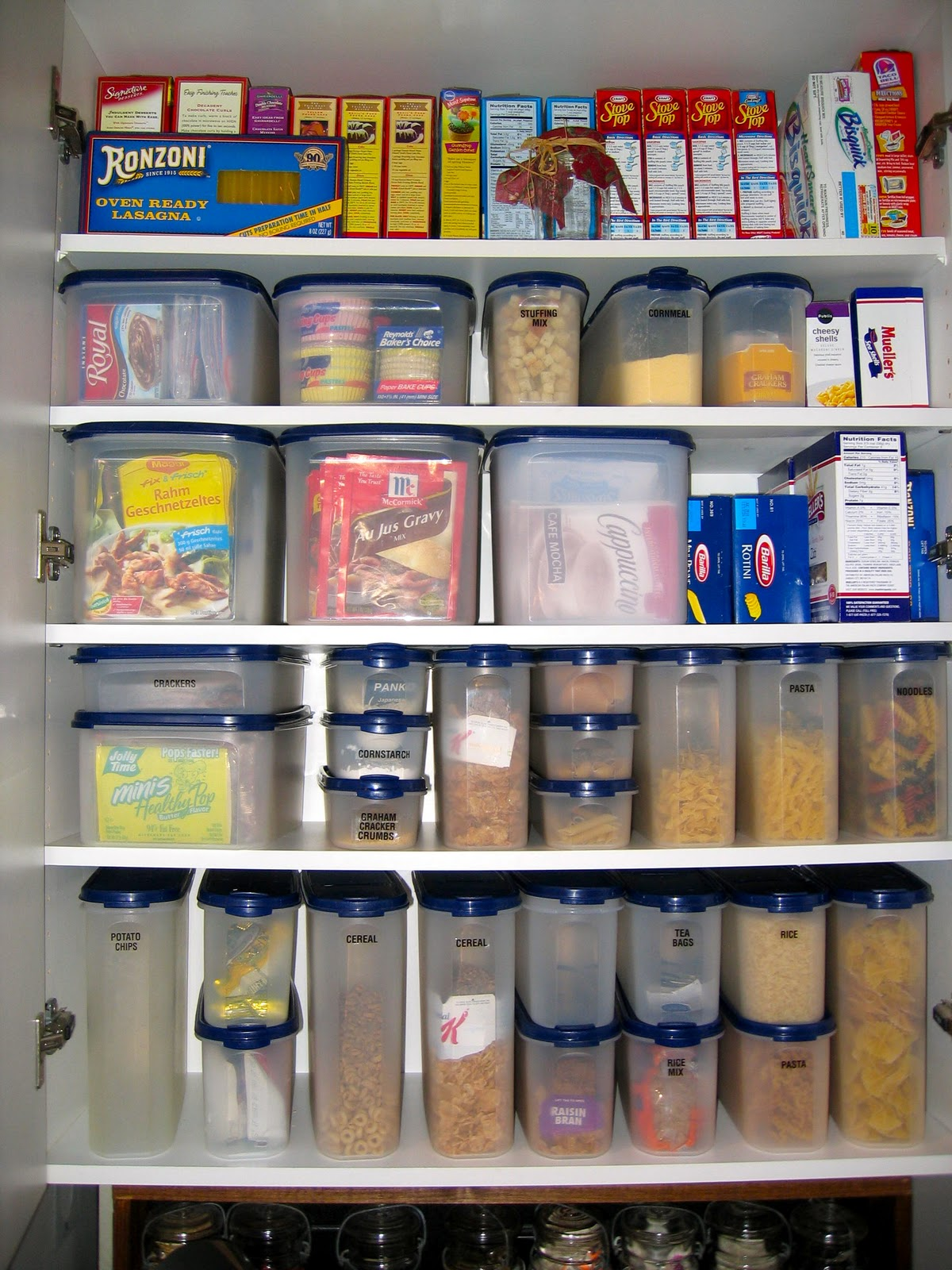 Canisters For Kitchen Counter May Days Organizing The Pantry
