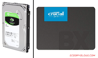 SSD and HDD for Gaming PC