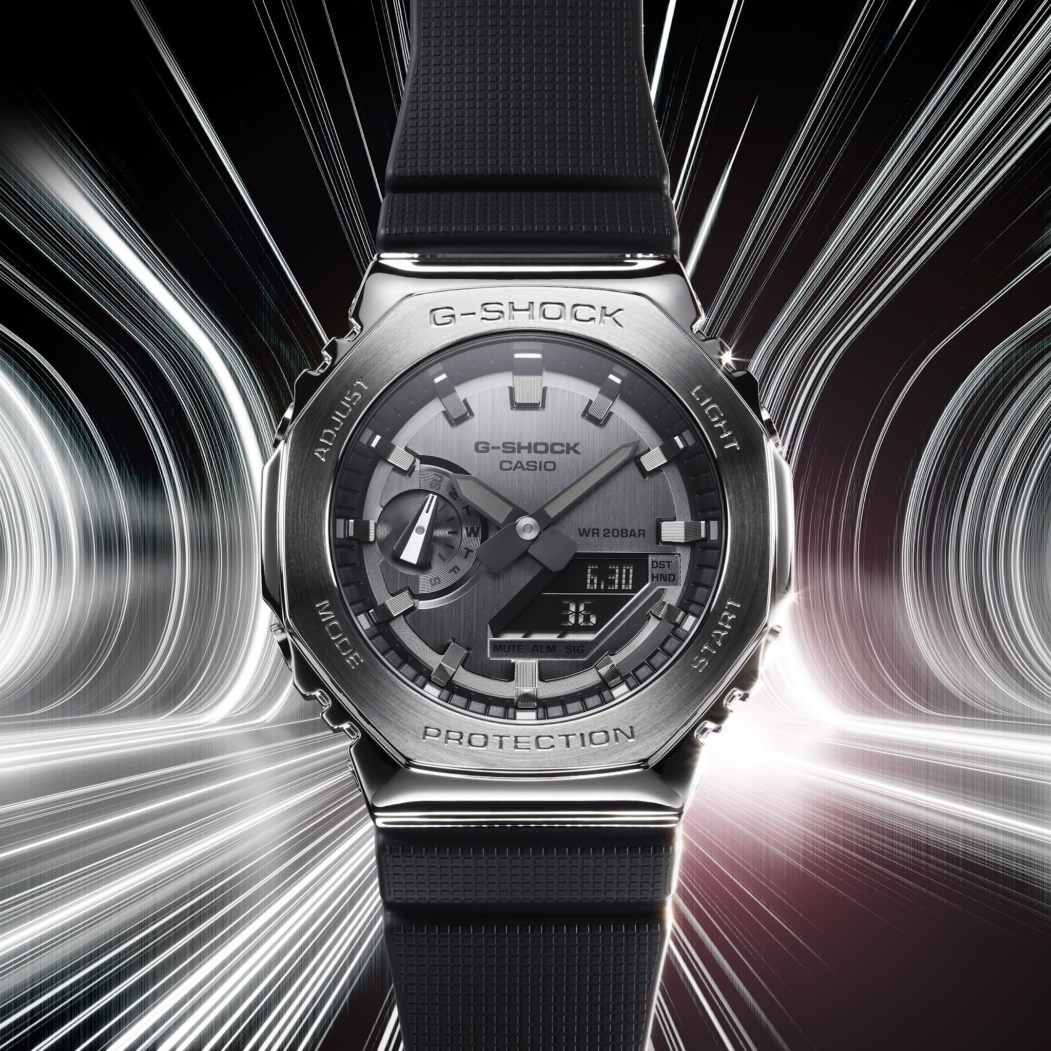 G-SHOCK Unveils All-New Series Of Metal Covered Watches