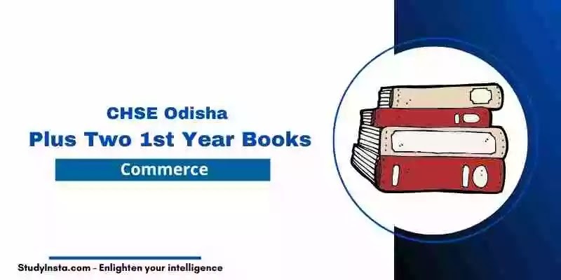 CHSE Odisha Plus Two Business Studies Book PDF | +2 1st Year Commerce