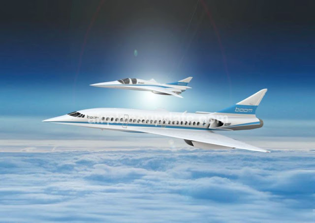 Boom Supersonic XB-1 aircraft