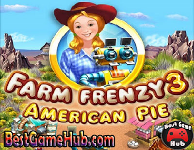 Farm Frenzy 3 American Pie PC Game Free Download