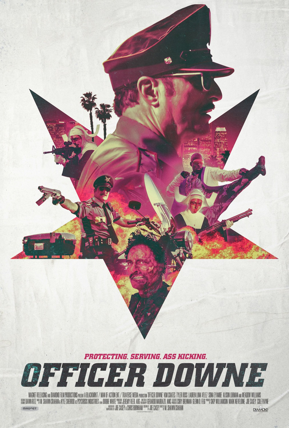 Nonton Film Officer Downe (2016)