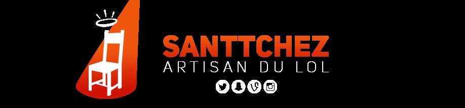 SanTTcheZ: Tableau logo rouge by STTZ