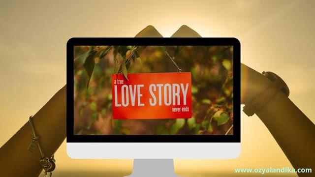 kisah cinta sinetron di televisi