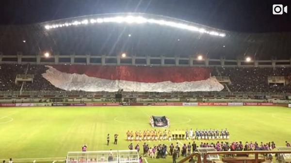 Luis Milla Terkesan dengan Aremania saat Final Piala Presiden 2017