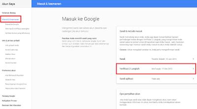 Cara Mengaktifkan Verifikasi Langkah 2 Saat Login ke Akun Google