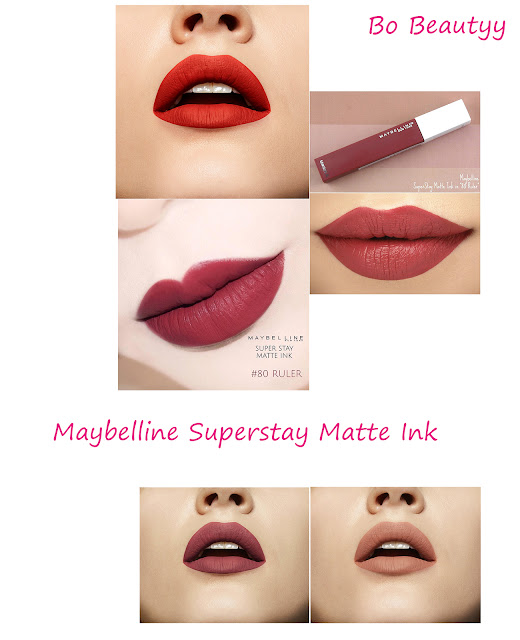 Review son kem lì Maybelline Superstay Matte Ink
