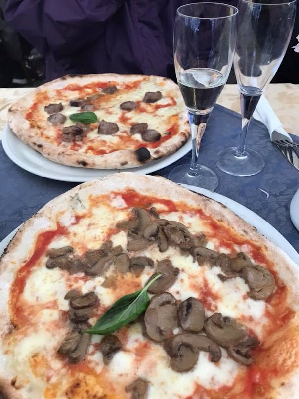 Pizza in Sorrento