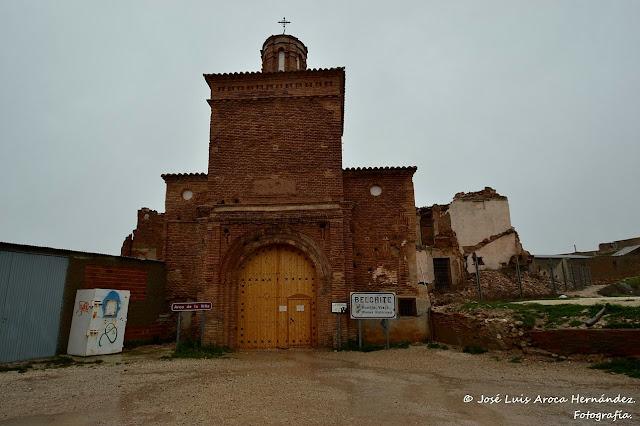 Belchite (Zaragoza).