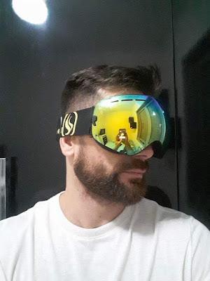 Óculos máscara