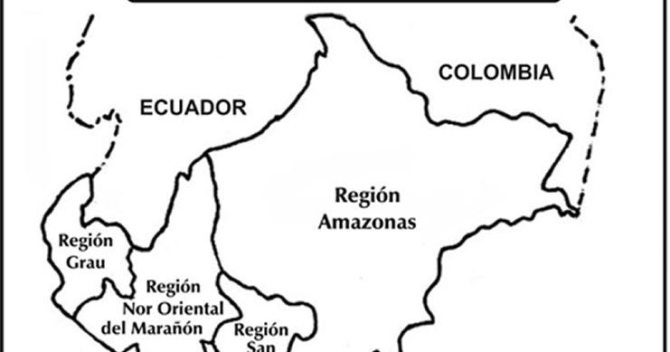 Mapa Peru Para Colorear Dibujos Para Colorear Pintar ...
