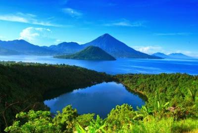 Danau Laguna di Ternate maluku