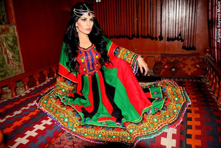 Beautiful Afghan Dress