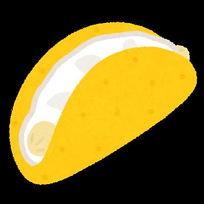 バナナオムレツケーキのイラスト