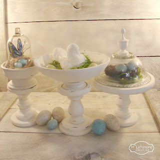 diy display pedestals