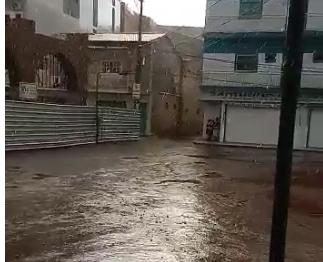 Chuva surpreende moradores de Bom Jesus da Lapa