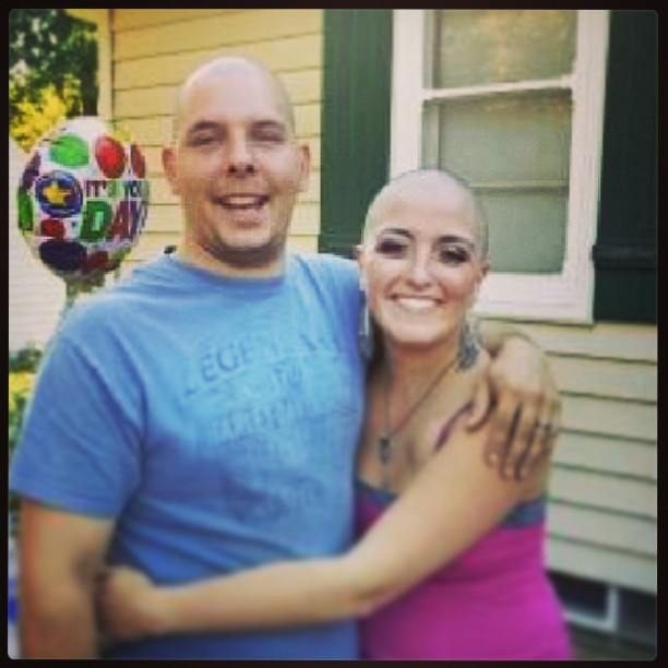 breast cancer survivor, survivor, head shaving, chemo, chemo therapy