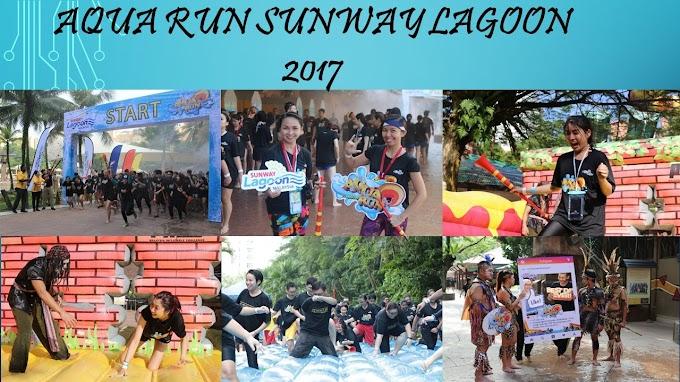 Aqua Run Sunway Lagoon 2017