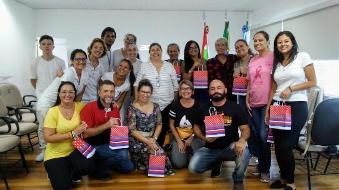 Enfermeiros de Penha participam de oficina sobre Humanização na Enfermagem