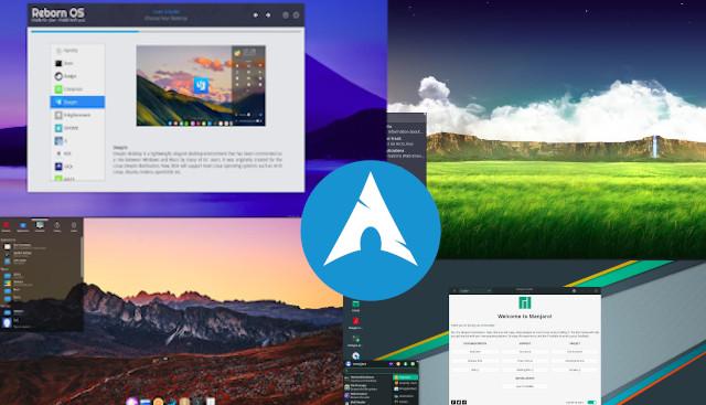 أفضل توزيعات Linux المبنية على Arch سهلة التثبيت والاستخدام