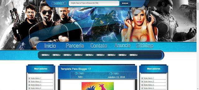 Template Blog de Download Editavel 2020