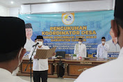 Bupati Cianjur Mengukuhkan Koordinator Desa Forum Komunikasi Guru Ngaji