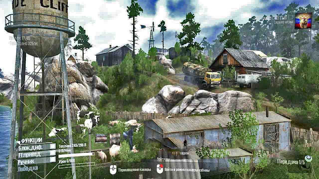 Mod Map Forgotten Taiga 3 v1.0 Map Tersulit Spintires Mudrunner