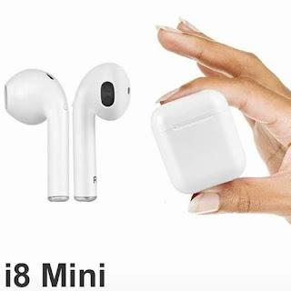 auricolare coppia i8 mini tws magnetico carica