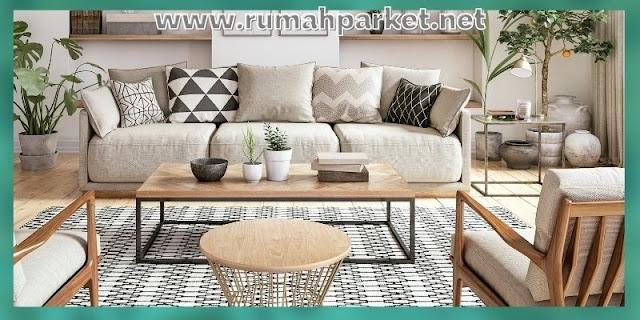 lantai terbaik untuk ruang tamu -- lantai karpet