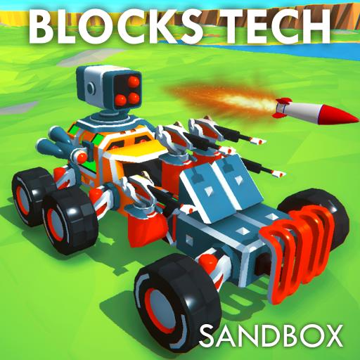 Block Tech Epic Sandbox Craft - VER. 1.5 Unlimited Money MOD APK
